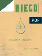 EL RIEGO - Principios Básicos , Por Absalon Vasquez