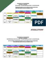 Traininsplan Sommerferien 2019