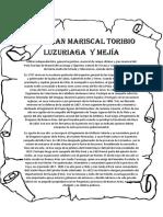 Gran Mariscal Toribio Luzuriaga y Mejía
