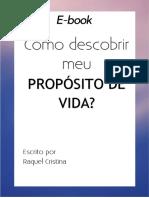 eBook Proposito de Vida Reflexao- Versao 2019