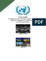 Trabajo Internacinal Economico UNCITRAL - CNUDMI