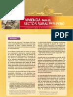 Vivienda para el Sector Rural en el Perú | La Experiencia de la Reconstrucción