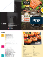 KhindAirFryerARF3000 RecipesBooklet Edited