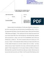 Motion for temporary restraining order, preliminary injunction