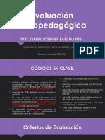 1.- Evaluacion Psicopedagogica