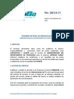 Acuerdo de Nivel de Servicios Empresa