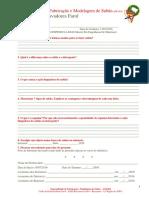 Modelagem e Fabricaçao de Sabão - Especialidade - Relatorio
