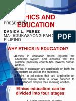 Ethics Report