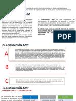 Clasificación ABC