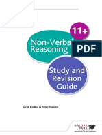 Non Verbal Reasoning Revision Guide ISBN 9781471849244