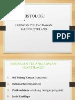 Histo J. T. Rawan, Dan Tulang 2018
