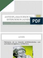 Antiinflamatorios No Esteroideos (Aines)