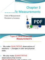 s c i e n t i f i c measurements
