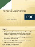 Rehabilitasi PPOK