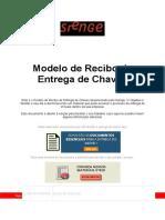 Modelo de Recibo de Entrega de Chaves