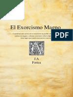 EL EXSOSRCISMO