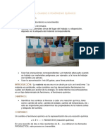 Informe de Quimica 2