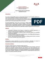 Descriptivo Finanzas No Financieros