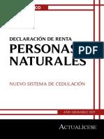 Libro Blanco Declaracion Renta Personas Naturales