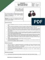 Ficha EPP Protector Auditivo Tipo Fono