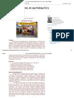 MICRO TEACHING IN MATHEMATICS_ MODULE 4 - SKILL OF REINFORCEMENT.pdf