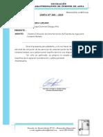 Cotización Caracterización de Fuentes - Chongos Alto