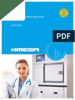 D2W_A4_GB Imesa Barier Washing Machine