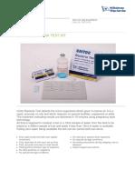 Bacteria Test flyer