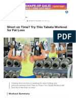 Short on Time_ Tabata Workout for Fat Loss