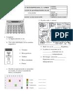 Evaluación Planos, Mapas y Maquetas.