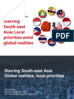 Starring south-east Asia Global realities