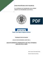 ABASTECIMIENTO ENERGÉTICO DE UNA VIVIENDA AISLADA DE LA RED