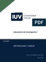 Unidad I- Laboratorio de Investigación