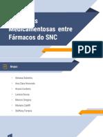 Apresentação Interações dos fármacos no SNC