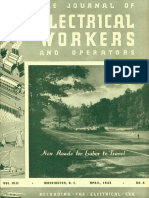 552. 1943-04 April the Journal of Electrical Workers and Operators
