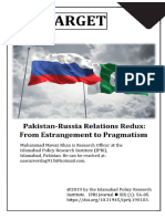 Pak Russia Relations