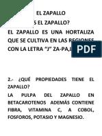 El Zapallo