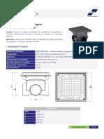 Ficha Técnica - Caixa de Inspeção de Esgoto CIPLA