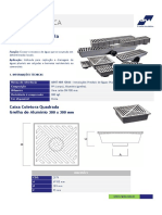 Ficha Técnica - Caixa Coletora CIPLA