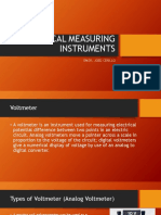 Electrical Measuring Instruments