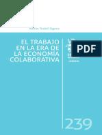 Todolí, Adrián (2017) El Trabajo en La Era de La Economía Colaborativa
