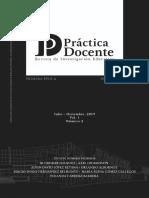 Prac Doc Rev Inv Educ Año 1 No. 2, Julio Dic 12 2019