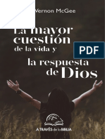 La mayor cuestión de la vida y la respuesta de Dios