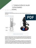 PRÁCTICA 1 conducción de calor en estado estacionario unidimensional
