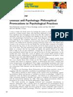 Deleuze and Psychology Philosophical