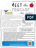 meet the teacher editable 2019-2020