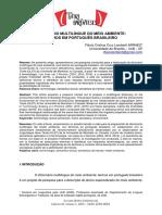 Dicionário Multilíngue Do Meio Ambiente Termos Em Português Brasileiro