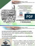 Comunicacion politica y tecnologica