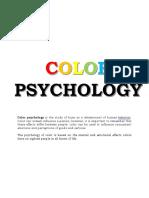 Colors Summary