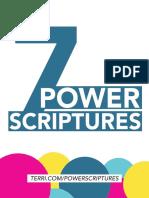 7 power scriptures